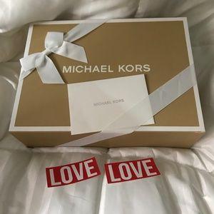 Michael Kors Bags - MICHAEL KORS Sofia Black Saffiano Leather Satchel